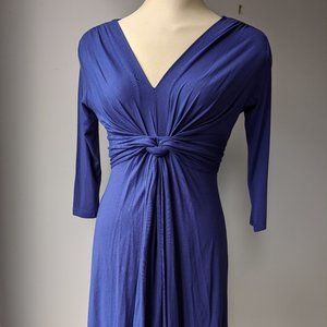 NWT Seraphine blue maternity dress size 4